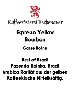 Espresso Yellow Bourbon